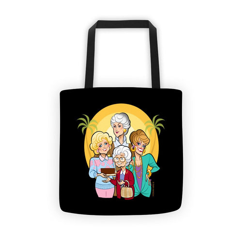 FRIENDS • Black Tote bag