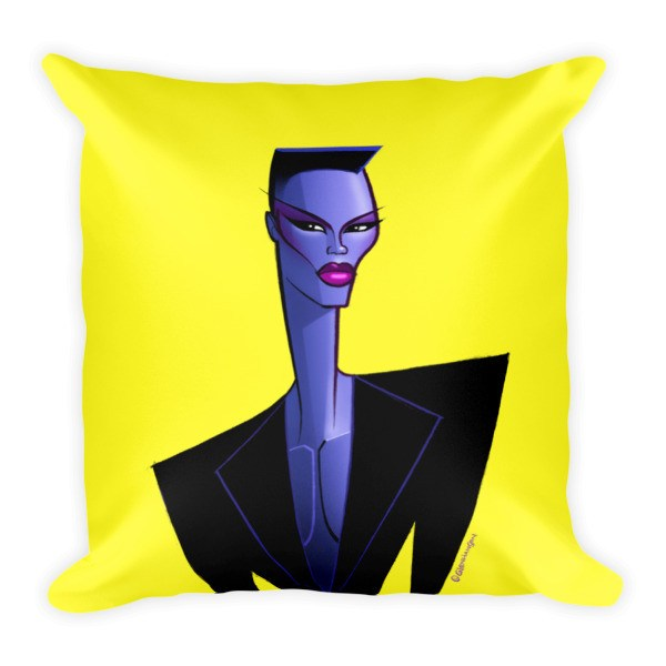 Grace Yellow Pillow
