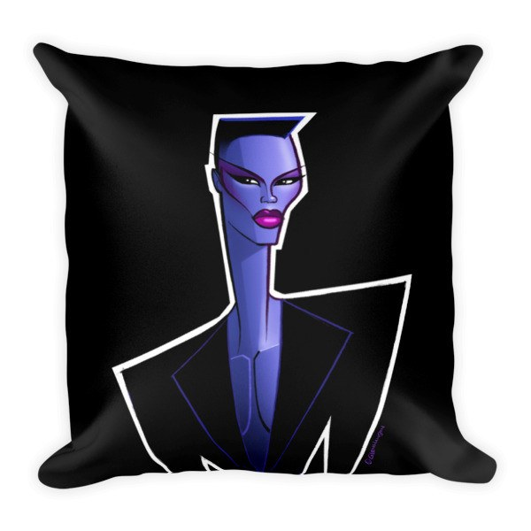 Grace Black Pillow