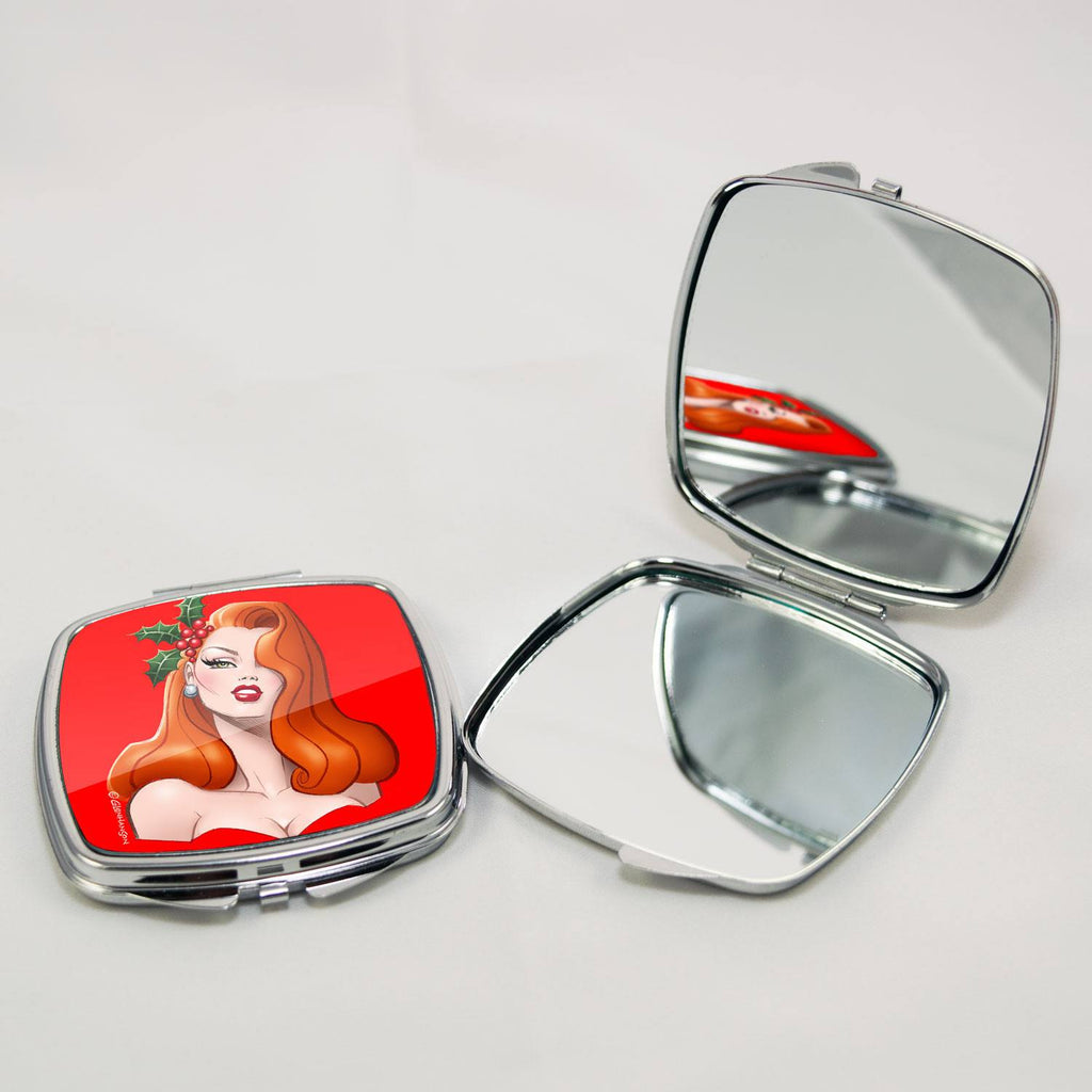 HOLIDAY PINUP • Compact Mirror
