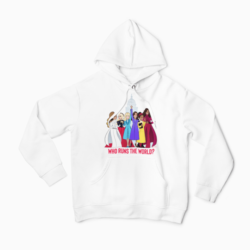 WHO RUNS THE WORLD • HOODIE