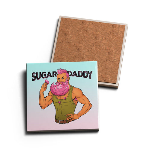 SUGAR DADDY • CERAMIC COASTER