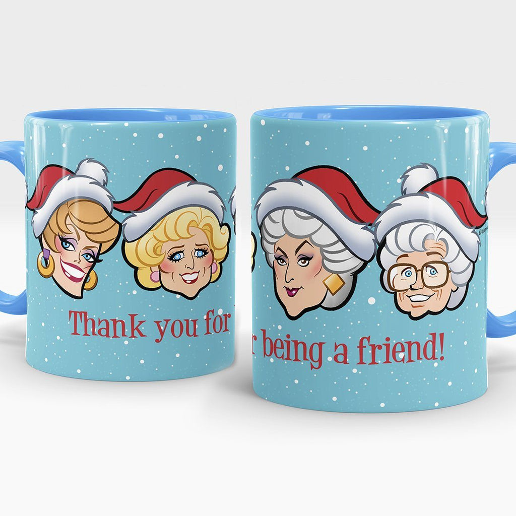 BLUE XMAS FRIENDS • MUG