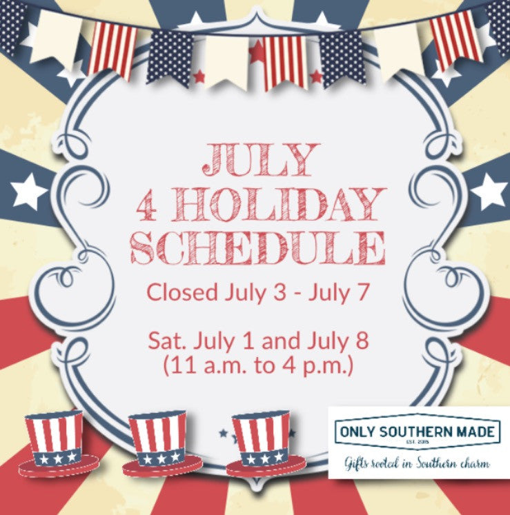 July 4 Holiday Schedule