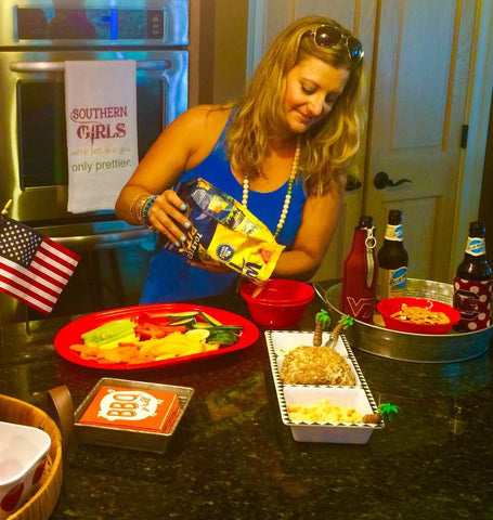 July 4 and Chicken Ball recipe - Only Southern Made