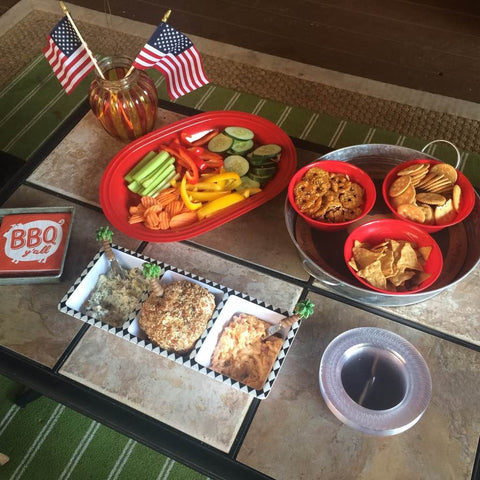 July 4 Table Set up - Only Southern Made