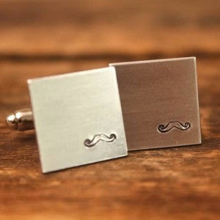 Mustache Cuff Links from Only Southern Made