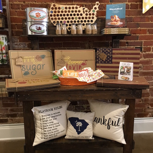Only Southern Made, Greer SC gift shop