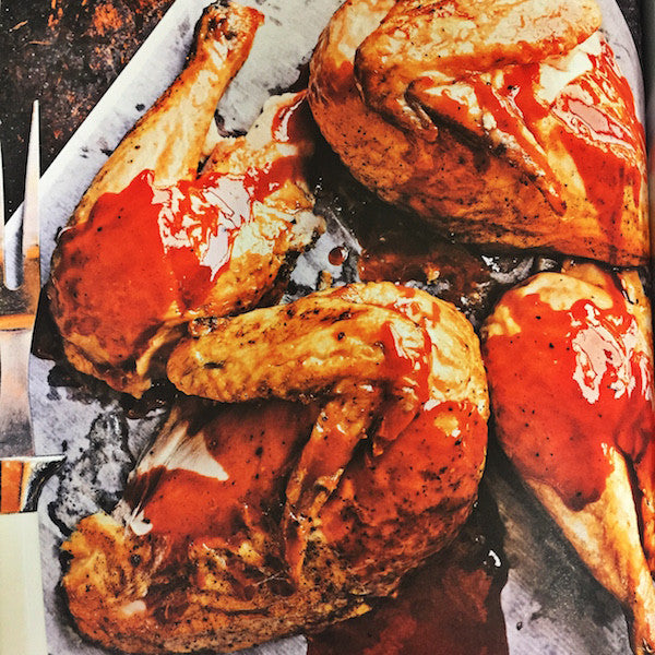 Smoked Chicken recipe, Buxton Hall BBQ Book of Smoke, Only Southern Made