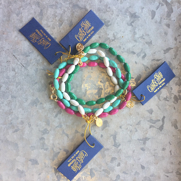 Spring 2017 Charleston Rice Bead bracelets - Only Southern Made
