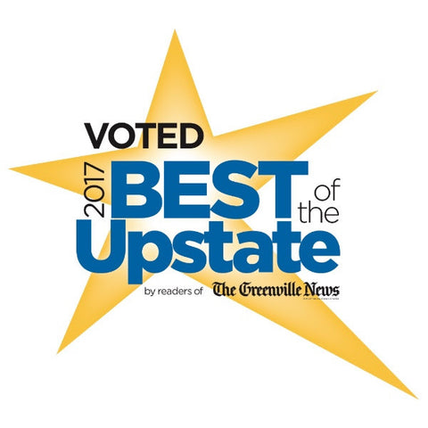OSM voted Best of the Upstate - Specialty Retail Store!