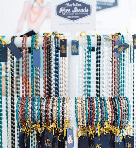 Charleston Rice Bead Bracelets, Various Colors - Only Southern Made