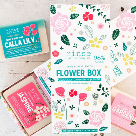 Flower Box Soap Gift Set, 3-Pack
