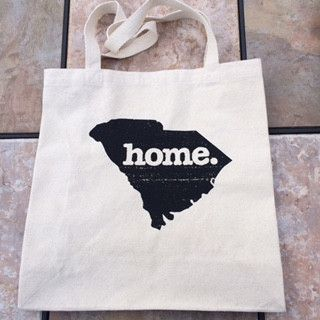 South Carolina Home Canvas Tote Bags - Only Southern Made