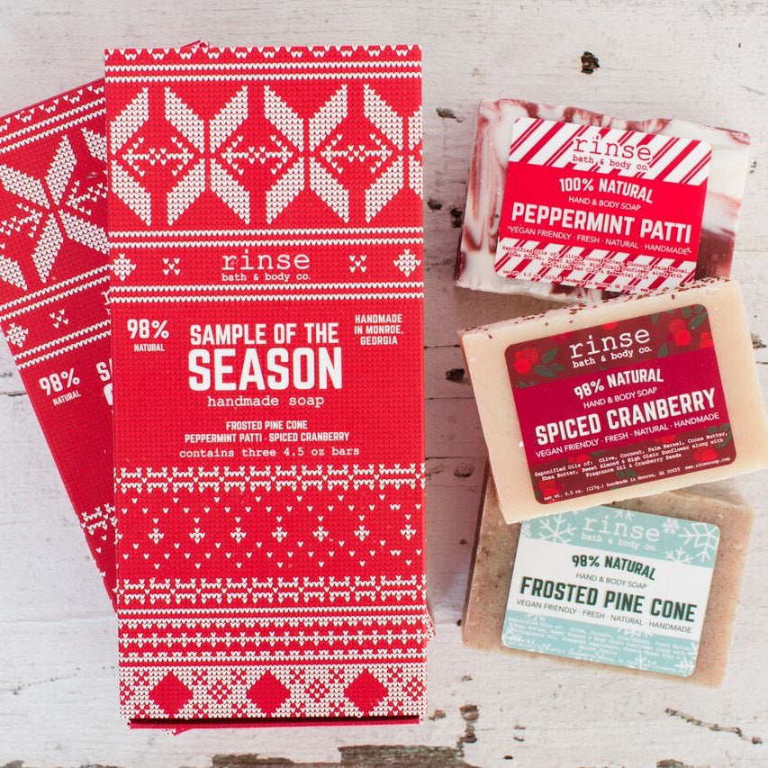Holiday Sample of the Season Soap Set, 3-Pack