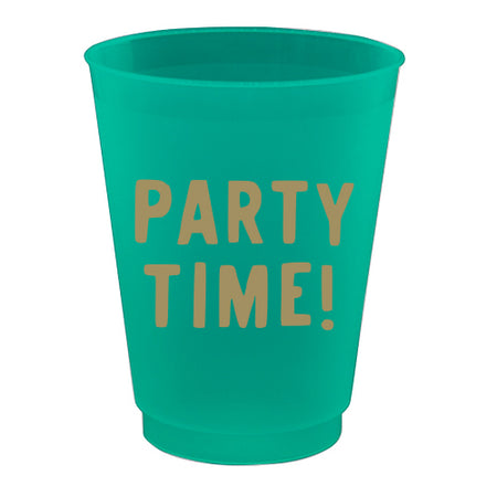 Party Time Frost Flex Cups 16 oz., 8 CT