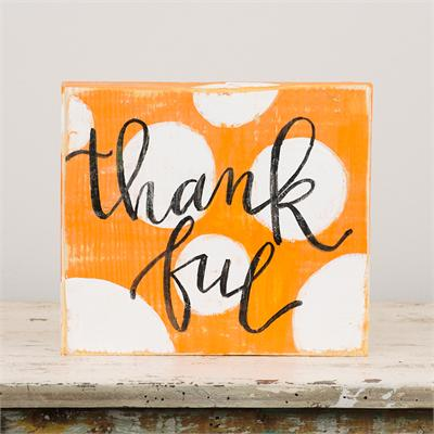 Thankful Board Sign - Only Southern Made