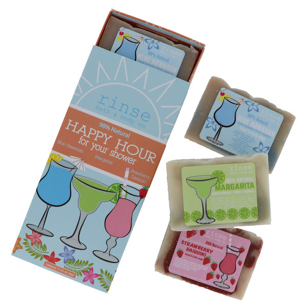 Tropical Happy Hour Soap Set, 3-Pack