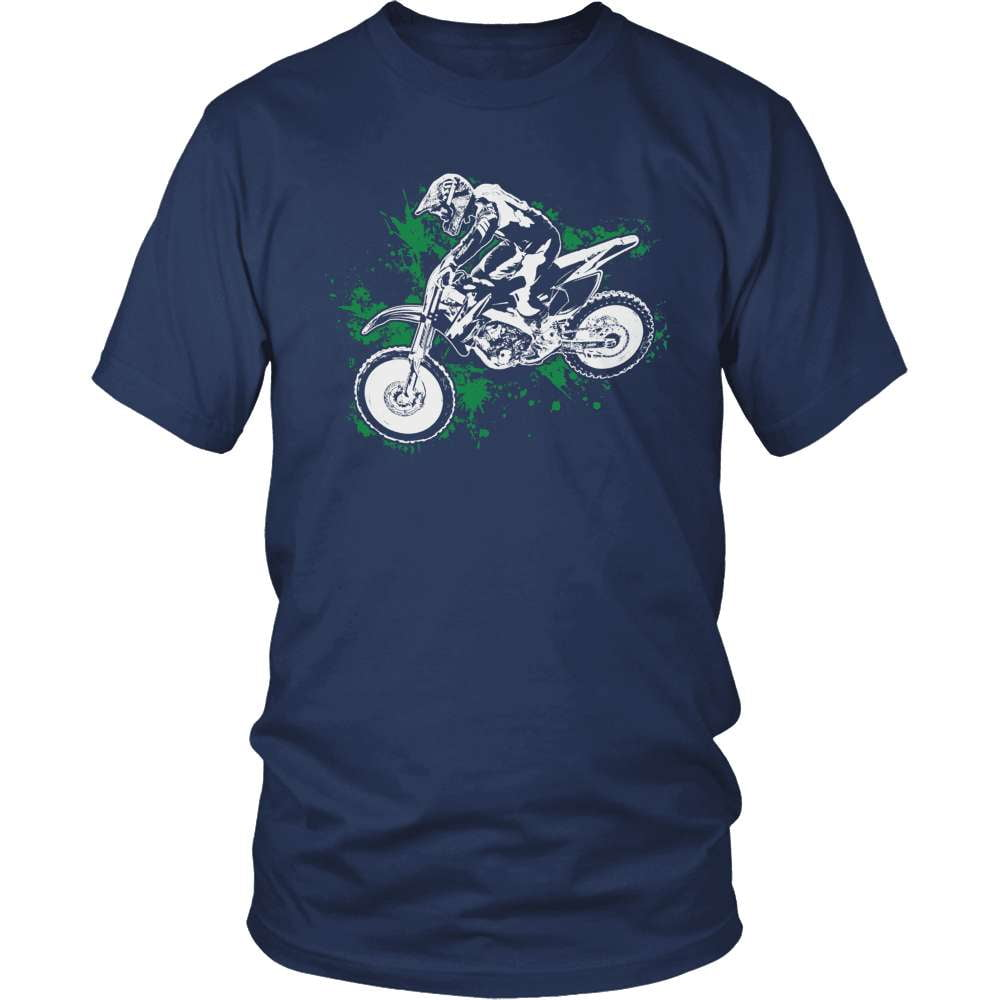 Dirt Bike T-Shirt Design - Flying