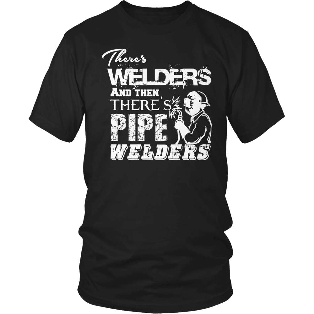 Welder T-Shirt Design - Pipe Welders