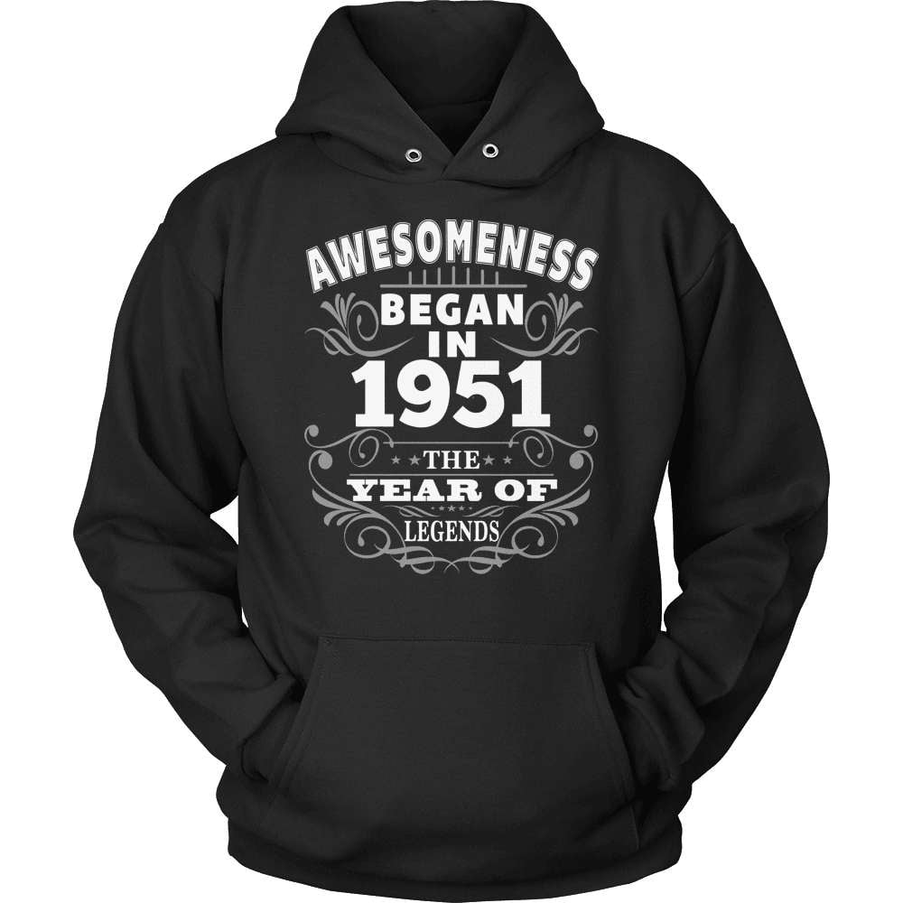 Birthday T-Shirt Design - Awesomeness - 1951 - snazzyshirtz.com