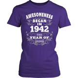 Birthday T-Shirt Design - Awesomeness - 1942