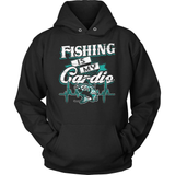 Fishing T-Shirt Design - Fishing Is My Cardio