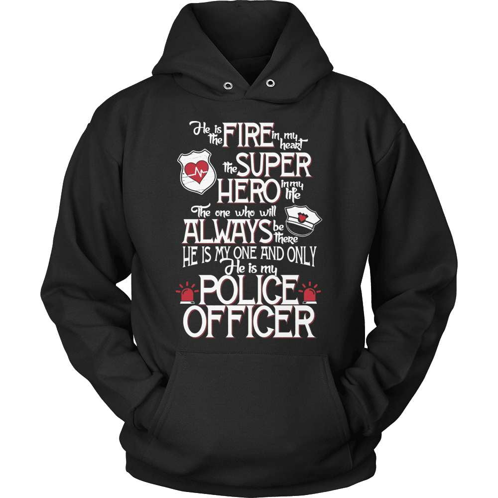 Police T-Shirt Design - He Is My Police Officer - snazzyshirtz.com