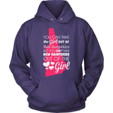 New Hampshire T-Shirt Design - Girl Out Of New Hampshire