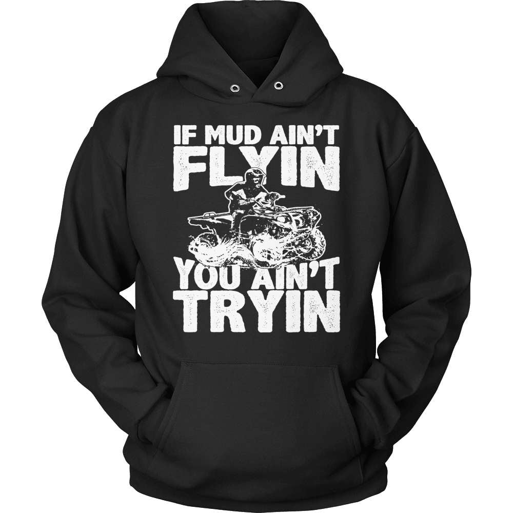 Dirt Bike T-Shirt Design - Mud Flyin
