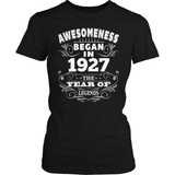 Birthday T-Shirt Design - Awesomeness - 1927