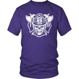 Firefighter T-Shirt Design - F.D Bravery