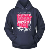 Arkansas T-Shirt Design - Girl Out Of Arkansas