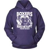 Boxer T-Shirt Design - Boxers Make Me Happy