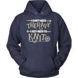 Knitting T-Shirt Design - I Just Need To Knit