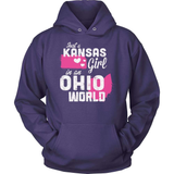 Kansas T-Shirt Design - Kansas Girl Ohio World