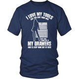 Mechanic T-Shirt Design - Tools And Drawers2
