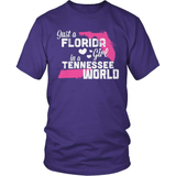 Florida T-Shirt Design - Florida Girl Tennessee World