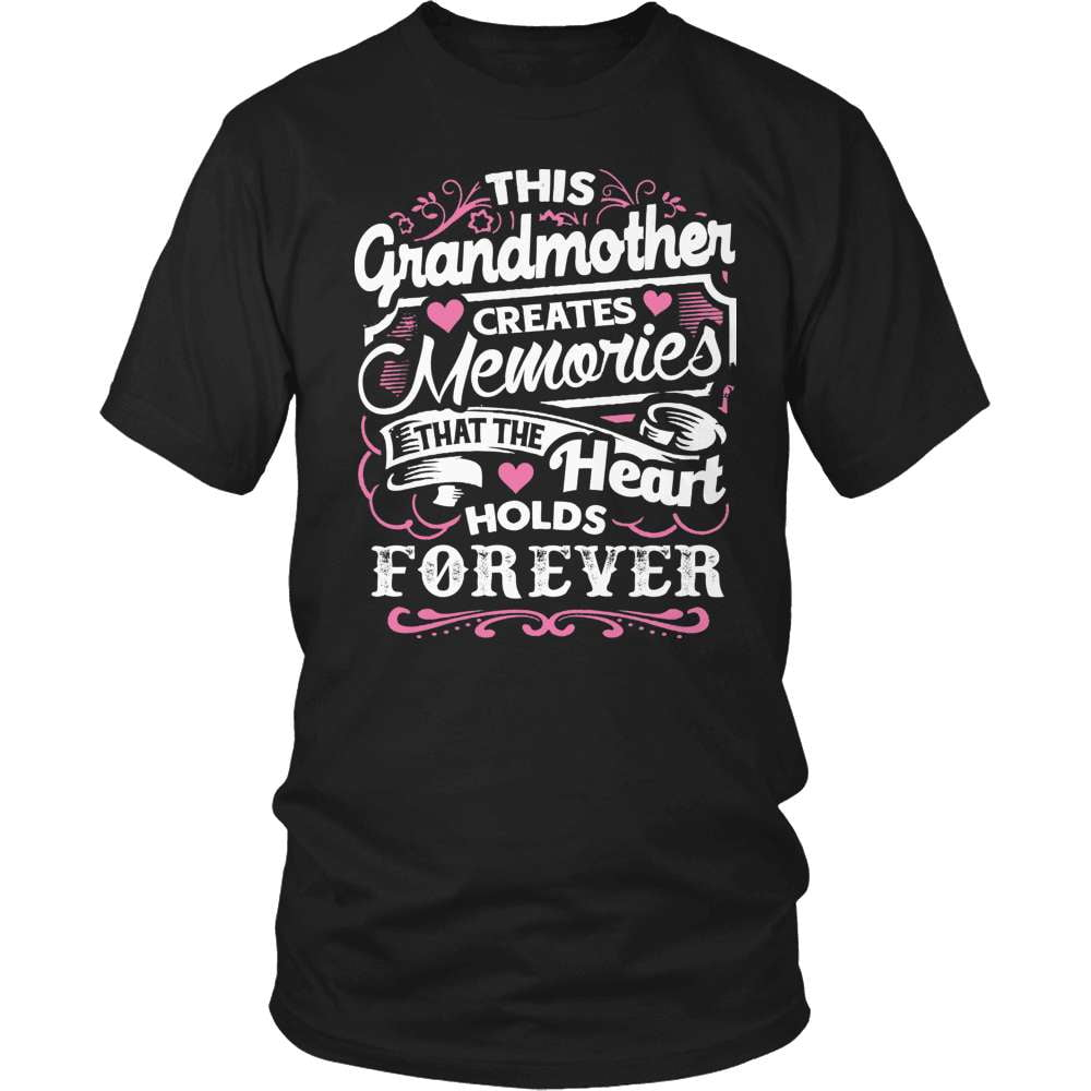 Grandparent T-Shirt Design - Memories