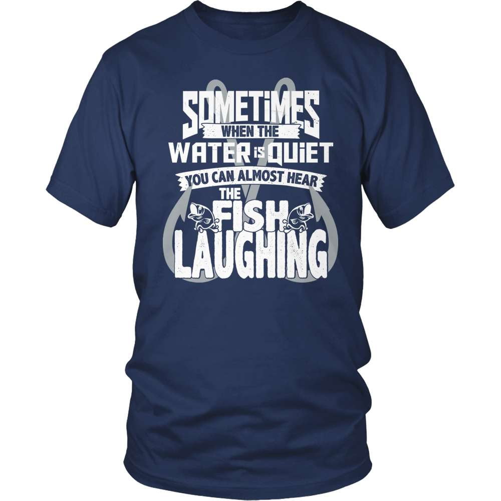 Fishing T-Shirt Design - You Can Almost Hear The Fish Laughing!