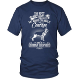 GSD T-Shirt Design - Courage