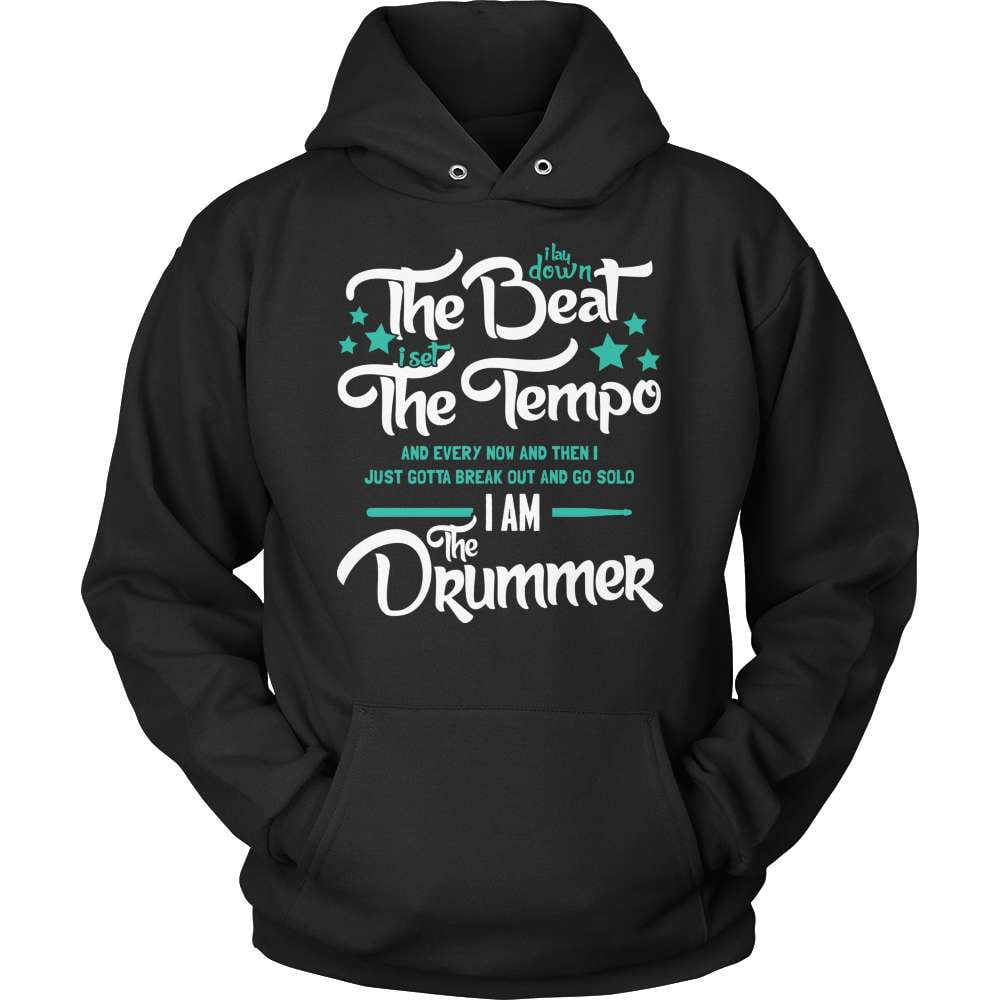 Drummer T-Shirt Design - I Am The Drummer! - snazzyshirtz.com