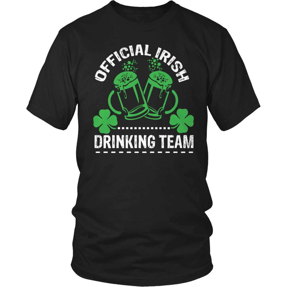 Irish T-Shirt Design - Irish Official Drinking Team