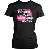 Florida T-Shirt Design - Florida Girl Washington World