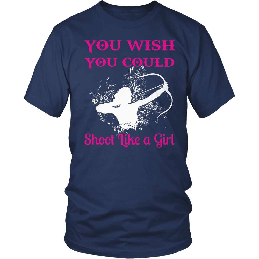 Archery T-Shirt Design - Shoot Like A Girl!
