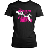 Nebraska T-Shirt Design - Nebraska Girl Florida World