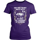 Dachshund T-Shirt Design - Three Things