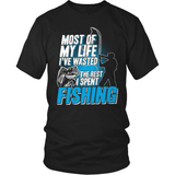 Fishing T-Shirt Design - Most Of My LIfe