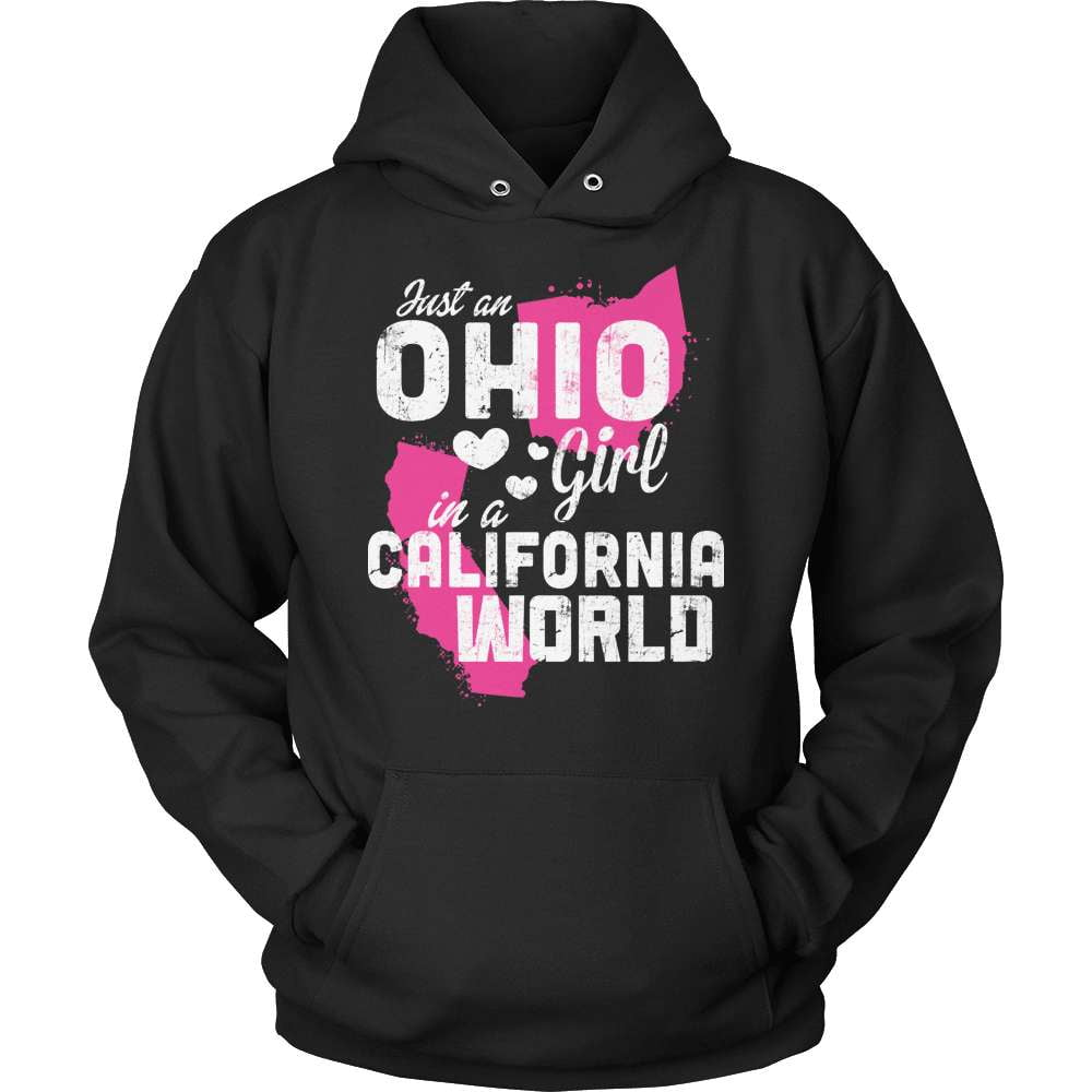 Ohio T-Shirt Design - Ohio Girl California World