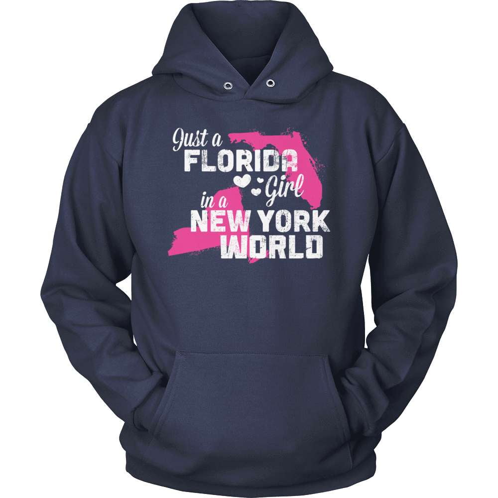 Florida T-Shirt Design - Florida Girl New York World
